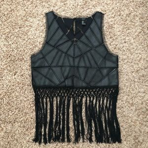 Shell forever 21 tank top